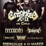ENTOMBED en Chile  (04/03/15)