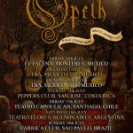 OPETH en Chile (17/07/15)