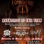 VITAL REMAINS en Chile (18/03/2015)
