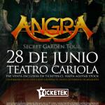 ANGRA en Chile, Teatro Cariola (28/06/15)