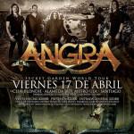 ANGRA en Chile (17/04/15)