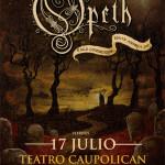 Opeth en Chile, se agotan las entradas!! (17/07/15)