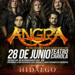 ANGRA en Chile, HIDALGO el representante nacional (28/06/15)