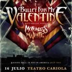 Bullet For My Valentine/ Motionless In White en Chile (16/07/15)