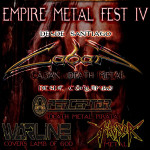 EMPIRE METAL FEST IV (15/08/15)