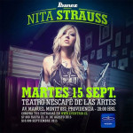 NITA STRAUSS en Chile (15/09/15)