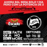 Santiago Get´s Louder – La avalancha de bandas se viene en un solo día