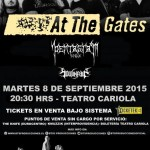 AT THE GATES y los chilenos PENTAGRAM y SOULINPAIN
