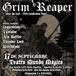 GRIM REAPER en Chile (17/09/15)