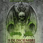 OVERKILL en Chile junto a ENIGMA y CRUDE BASTARD (09/12/15)