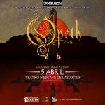 Opeth en Chile – Teatro Nescafé de las Artes (05/04/17)