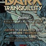 Dark Tranquillity en Chile (31/08/17)