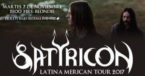 Satyricon en Chile 07/11/2017
