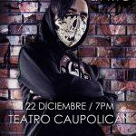Doblecero y su concierto en el Caupolicán