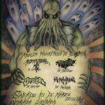 Ectoplasma / Skullpture / Opossitor / Deathrone en Coquimbo (10/03/18)