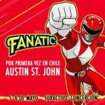 Austin St. John el Power Ranger Rojo en Fanatic 2018