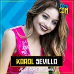 """Karol Sevilla de """"Soy Luna"""" en Comic Con Chile 2018"""