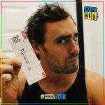 Ariel Levy se suma a campaña Comic Con 2018