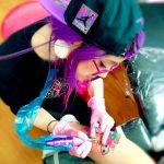 Laura Anunnaki trae el estilo glitter a Chile en Comic INK 2018