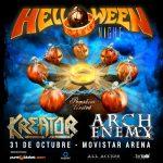 Helloween – Kreator – Arch Enemy (31/10/18)