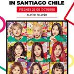 Momoland y todo el poder femenino del Kpop en Chile 26/10/18