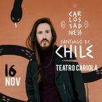 Carlos Sadness por primera vez en Chile