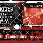 The Varukers en Chile 09/11/18