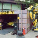 """Figura de 4 metros de """"Transformers Bumblebee"""" en encuentro FF"""
