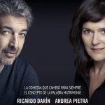 Ricardo Darín - Andrea Pietra en Teatro De Rosario Norte