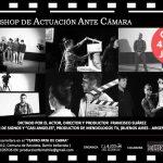 Workshop de actuación ante cámara