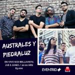Australes y Piedraluz llevan su música hasta SCD Bellavista