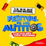 """""""El Festival de Los Autitos"""" del 11 al 28 de julio 2019"""