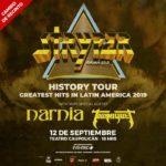 Stryper cambia el recinto de su concierto en Chile