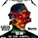 Metallica invita a destacada banda nacional a su show en Chile