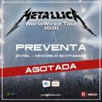 Metallica agota tickets de preventa