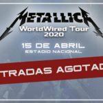 Metallica agota entradas para su concierto en Chile