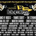 Guns N' Roses y The Strokes en Lollapalooza Chile 2020