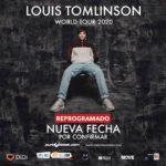 Show de Louis Tomlinson en Chile ha sido reprogramado