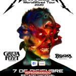 Metallica WorldWired Tour – Pospuesto