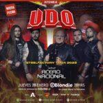 UDO Reagenda show en Chile para 2022