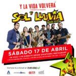 """Por primera vez en su historia:   Sol y Lluvia realiza su primer concierto streaming """"Y la vida Volverá"""""""