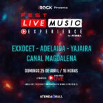 Live Music Experience Fest 25 abril 2021