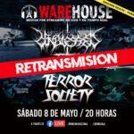 Warehouse retransmitirá show de Unblessed y Terror Society