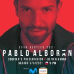 Comenzó la venta para el show streaming de Pablo Alborán y ha sido ¡TODO UN ÉXITO!