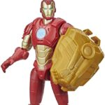 Encuentra tu poder con los nuevos vehículos flexibles y figuras mecanizadas de Iron Man, Capitán América y Spiderman