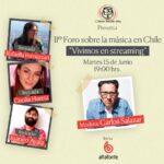 Segundo Foro sobre la Industria Música en Chile se centrará en las posibilidades del streaming