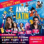 Este día del niño se presentará el concierto Anime Latin Festival