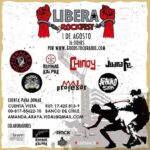 Lanzan Libera Rock Fest, evento a beneficio de los presos de la revuelta